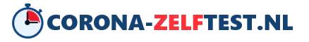 Logo corona zelftst